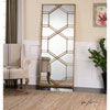 This item: Kennis Gold Leaner Mirror