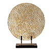 This item: Layan Gold Art Glass Charger