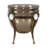 This item: Asmita Gold Glass Bowl