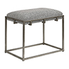 This item: Edie Silver Small Bench