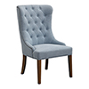 This item: Rioni Light Slate Blue Wing Chair