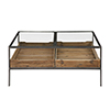 This item: Silas Reclaimed Pine and Aged Steel Coffee Table