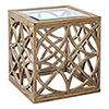 This item: Janeva Wheat Accent Table