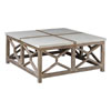 This item: Catali Ivory Limestone and Oatmeal Washed Wood Coffee Table