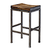 This item: Beck Industrial Bar Stool