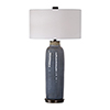 This item: Vicente Slate Blue One-Light Table Lamp
