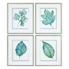 This item: Spring Leaves Prints, Set of Four