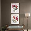 This item: Vivid Arrangement Floral Prints, Set of 2