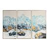 This item: Crashing Waves Abstract Art, Set of 3