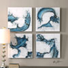 This item: Swirls In Blue by Grace Feyock: 20 x 20-Inch Abstract Wall Art, Set of Four