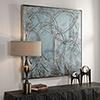 This item: Interlock Blue Modern Art
