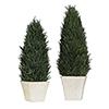 This item: Cypress Cone Topiaries, Set of 2