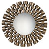 This item: Taurion Silver Leaf Round Mirror