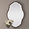 This item: Evelyn Silver Champagne and Dark Bronze Mirror