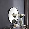 This item: Afton Antique Silver Mirror
