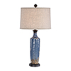 This item: Evelyn Blue One-Light Table Lamp