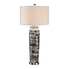 This item: Selby Gray and Cream One-Light Table Lamp