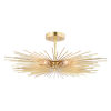 This item: Nikko Gold Six-Light Semi Flush Mount