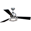 This item: Clara Brushed Nickel 52-Inch Ceiling Fan With Crystals and LED Light Kit