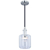 This item: Bunsen Satin Nickel LED Square Mini Pendant