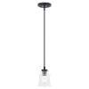 This item: Toledo Matte Black One-Light Mini Pendant