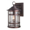 This item: Southport Sienna Bronze 9-Inch One-Light Outdoor Wall Mounted
