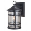 This item: Southport Matte Black 9-Inch One-Light Outdoor Wall Mounted