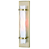 This item: Vilo Golden Brass One-Light ADA Wall Sconce