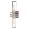This item: Marquis Satin Nickel Two-Light Wall Sconce