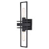 This item: Marquis Matte Black Two-Light Wall Sconce