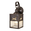 This item: Bryce Burnished Bronze 5-Inch Outdoor Wall Light