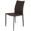 This item: Sienna Dark Brown Dining Chair