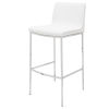 This item: Colter Matte White Counter Stool