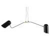 This item: Caden Glossy Black Two-Light Pendant