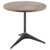 This item: Compass Black Solid Oak Bistro Table