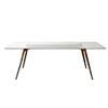 This item: Black 87-Inch Dining Table with Tempered Glass