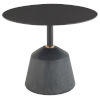 This item: Exeter Matte Black Side Table
