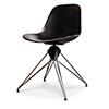 This item: Kahn Matte Black Accent Chair