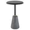 This item: Exeter Charred Black Side Table
