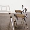 This item: Dayton Matte Umber Tan Dining Chair