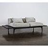 This item: Salk Matte Graphite Triple Seat Sofa