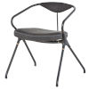 This item: Akron Storm Black Dining Chair