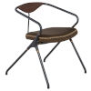 This item: Akron Brown and Black Dining Chair