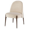 This item: Ames Gema Pearl and Walnut Dining Chair
