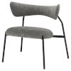 This item: Dragonfly Gray and Black Dining Chair