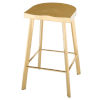 This item: Icon Polished Gold Counter Stool