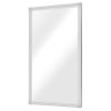This item: Glam Polished Silver Wall Mirror