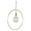 This item: Finn Brass One-Light Pendant
