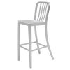 This item: Soho Anodized Silver Counter Stool