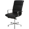 This item: Lucia Matte Black and Silver High Back Office Chair